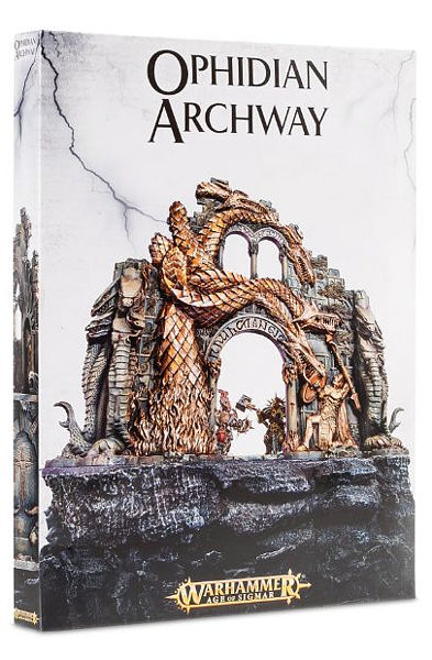 Warhammer. Миниатюра Ophidian Archway