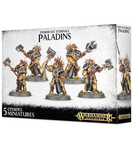 Warhammer. Набор миниатюр Stormcast Eternals PaladinsПредставляем вашему вниманию набор миниатюр Stormcast Eternals Paladins, созданный по мотивам игры Warhammer.<br>