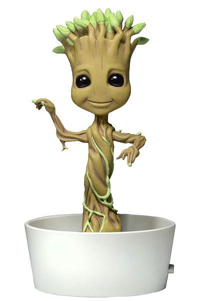 Фигурка Guardians Of The Galaxy Body Knocker Dancing Groot (15 см)Guardians Of The Galaxy Body Knocker Dancing Groot – миниатюрная фигурка-телотряс, созданная по мотивам блокбастера Стражи галактики (The Guardians of the Galaxy), основанного на серии знаменитых комиксов.<br>