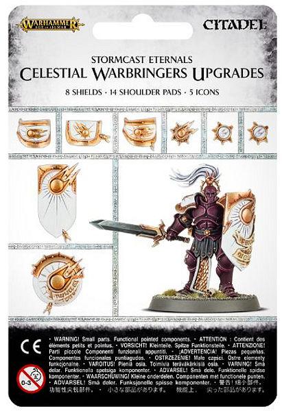Warhammer. Набор Celestial Warbringers UpgradesНовый набор Celestial Warbringers Upgrades, созданный по мотивам игры Warhammer.<br>