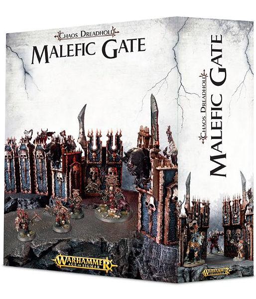 Warhammer. Миниатюра Chaos Dreadhold Malefic GateНовая миниатюра Chaos Dreadhold Malefic Gate, созданная по мотивам игры Warhammer.<br>