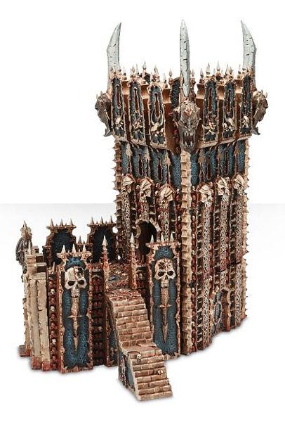 Warhammer. Миниатюра Chaos Dreadhold Overlord Bastion overlord маруяма куганэ мп3 аудиокнига том 8 скачать