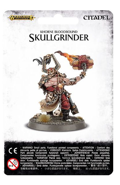 Warhammer. Миниатюра Khorne Bloodbound SkullgrinderНовый набор Warhammer Khorne Bloodbound Skullgrinder, созданный по мотивам игры Warhammer.<br>