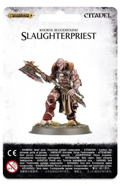 Warhammer. Миниатюра Khorne Bloodbound SlaughterpriestНовый набор Warhammer Khorne Bloodbound Slaughterpriest, созданный по мотивам игры Warhammer.<br>
