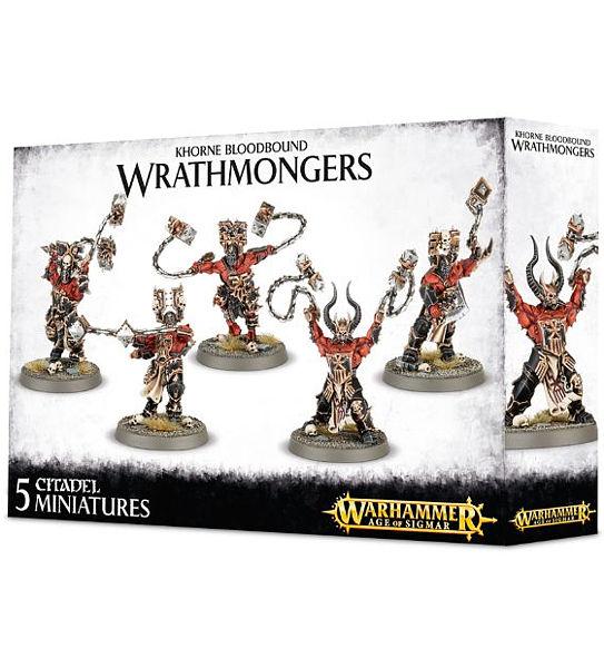 Warhammer. Набор Khorne Bloodbound Wrathmongers