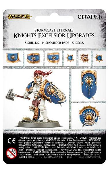 Warhammer. Набор Knigts Excelsior UpgradesНовый набор Warhammer Knigts Excelsior Upgrades, созданный по мотивам игры Warhammer.<br>