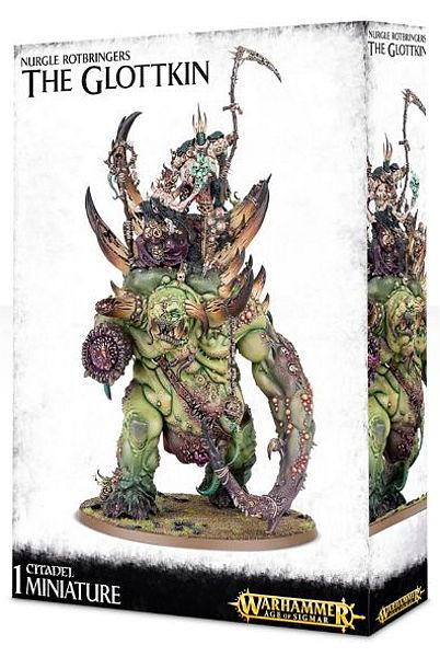Warhammer. Миниатюра Nurgle Rotobringers The Glottkin