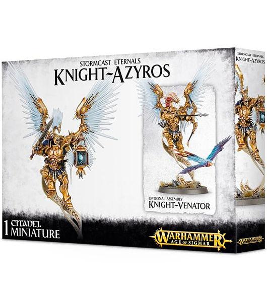 Warhammer. Миниатюра Stormcast Eternals Knight AzyrosНовый набор Warhammer Stormcast Eternals Knight Azyros, созданный по мотивам игры Warhammer.<br>