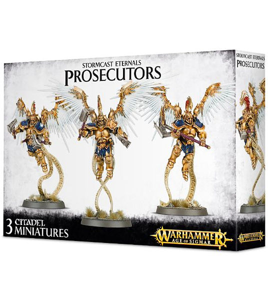 Warhammer. Набор миниатюр Stormcast Eternals Prosecutors with Celestial Hammers