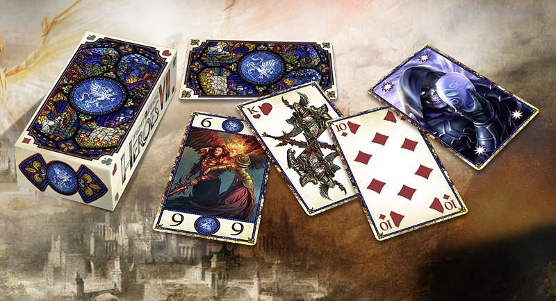 Колода карт Таро. Меч и магия. Герои VIIПредставляем вашему вниманию колоду карт Таро. Меч и магия. Герои VII, созданную по мотивам популярной игры.<br>