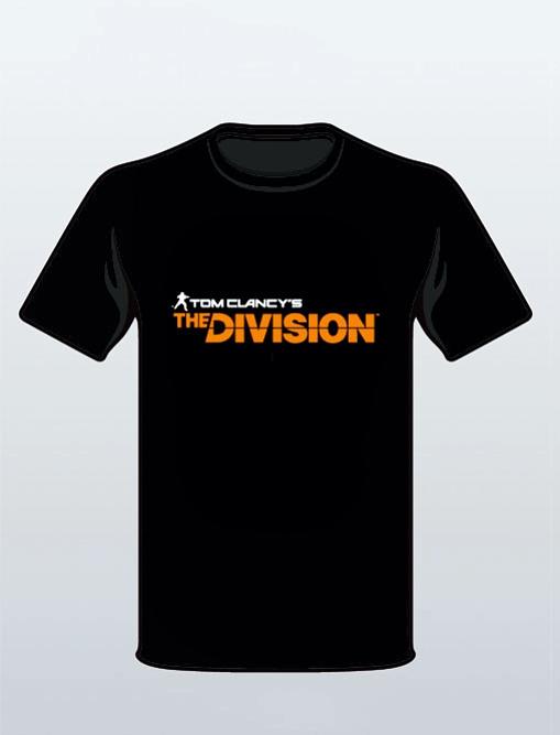 Футболка Tom Clancy's The Division (черная) (XL)