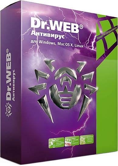 Антивирус Dr.Web (2 устройства, 6 месяцев) (Цифровая версия) eset nod32 антивирус platinum edition 3пк 2года