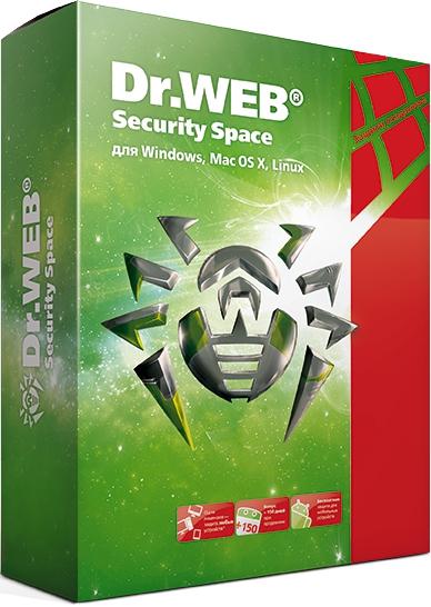 Dr.Web Security Space (1 ПК + 1 моб. устр./ 6 месяцев)  (Цифровая версия)