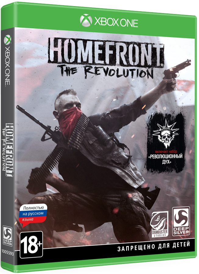 Homefront: The Revolution. Day One Edition [Xbox One] видеоигра для xbox one overwatch origins edition