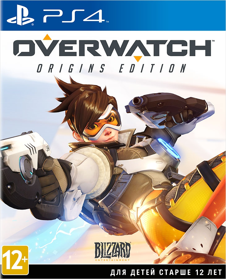 Overwatch: Origins Edition [PS4]Игра Overwatch – футуристический командный шутер от первого лица, события которого происходят на Земле будущего. В динамичных и захватывающих сражениях сходятся многочисленные герои, среди которых есть огромные роботы, мутанты, путешественники во времени, бесшумные убийцы и даже горилла-ученый.<br>