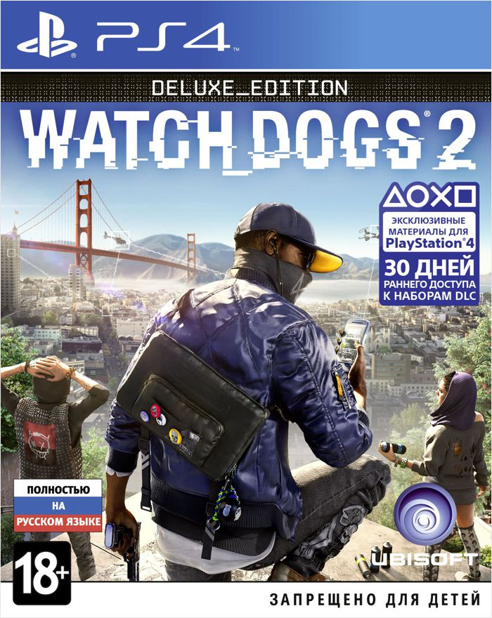 Watch Dogs 2. Deluxe Edition [PS4]