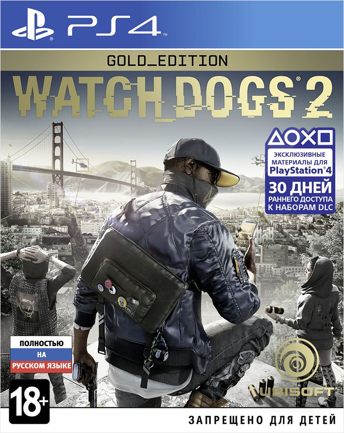 Watch Dogs 2. Gold Edition [PS4]