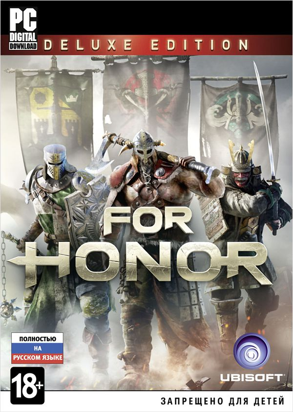 For Honor. Deluxe Edition  [PC, Цифровая версия] (Цифровая версия) the crew 2 deluxe edition [pc цифровая версия] цифровая версия