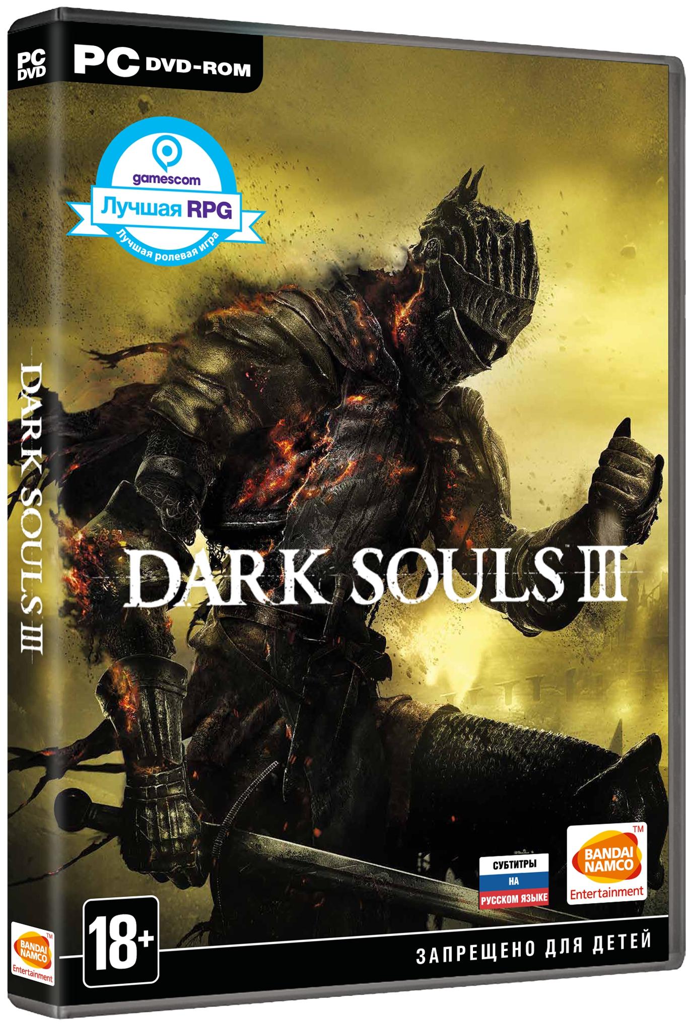 Dark Souls III [PC]Когда пламя угасает, и все обращается в прах, вас ждёт новое путешествие в мир, полный невероятных противников и грандиозных локаций. Бездна уникального геймплея и великолепной графики  Dark Souls III поглотит как ветеранов, так и новичков. И останутся лишь угли…<br>