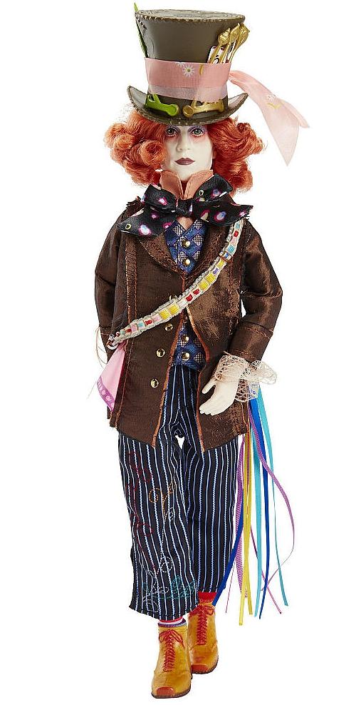 Коллекционная кукла Alice Through The Looking Glass. Mad Hatter (29 см)Представляем вашему вниманию коллекционную куклу Alice Through The Looking Glass. Mad Hatter, воплощающую собой Безумного Шляпника, одного из главных персонажей фильма Алиса в Зазеркалье.<br>