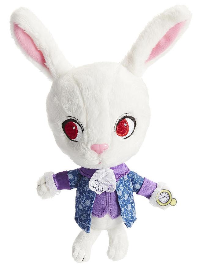 Мягкая игрушка Alice Through The Looking Glass. White Rabbit (10 см)Представляем вашему вниманию мягкую игрушку Alice Through The Looking Glass. White Rabbit, воплощающую собой Белого Кролика, одного из основных персонажей фильма Алиса в Зазеркалье, фэнтезийной ленты 2016 года режиссера Джеймса Бобина, являющейся сиквелом фильма студии Disney «Алиса в Стране чудес», выпущенного в 2010 году Тимом Бертоном.<br>
