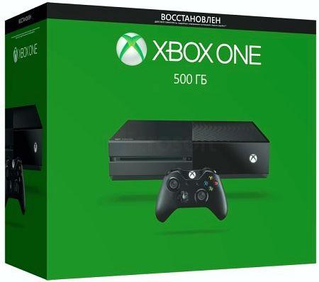 Игровая консоль. Xbox One (500 GB). Восстановленная (Refurbished)