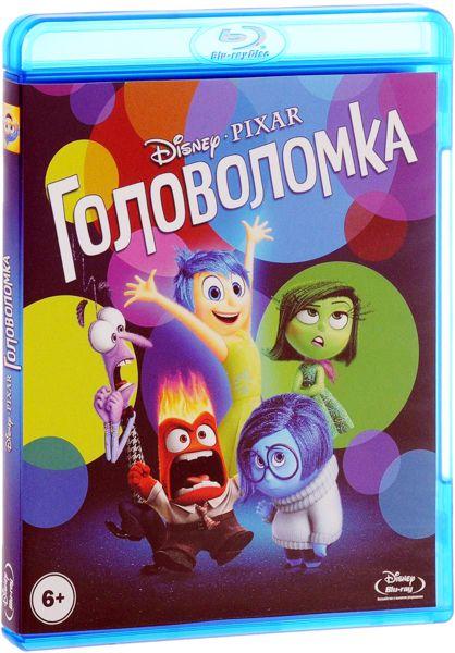 Головоломка (2 Blu-ray) Inside OutDisney/Pixar с гордостью представляет новый анимационный шедевр Головоломка: фильм, который перенесет вас в самое загадочное место на свете &amp;ndash; в глубины человеческого сознания.<br>