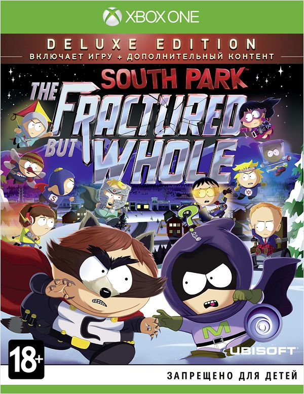 South Park: The Fractured but Whole. Deluxe Edition [Xbox One] видеоигра для xbox one overwatch origins edition