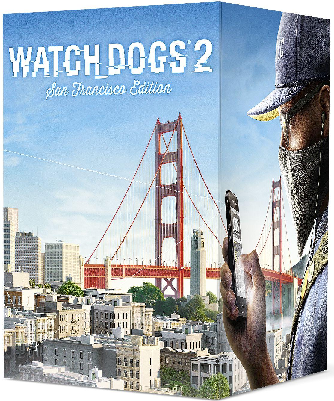 Watch Dogs 2. Коллекционное издание «Сан-Франциско» [Xbox One]В игре Watch Dogs 2 исследуйте огромный мир, который наполнен множеством возможностей. Взламывайте дорожную инфраструктуру в то время как вы участвуете в опасных погонях на автомобилях по извилистым улицам Сан-Франциско, пробегитесь по крышам красочных и ярких районов Окленда и побывайте в офисах компаний Силиконовой долины.<br>
