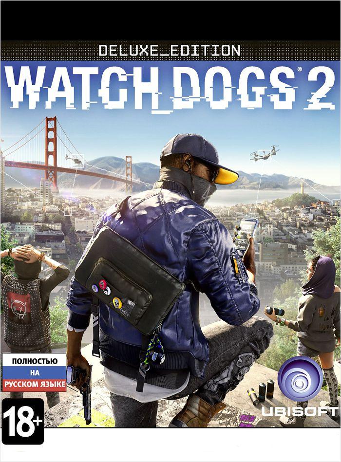 Watch Dogs 2 Deluxe Edition (Цифровая версия)В игре Watch Dogs 2 исследуйте огромный мир, который наполнен множеством возможностей. Взламывайте дорожную инфраструктуру в то время как вы участвуете в опасных погонях на автомобилях по извилистым улицам Сан-Франциско, пробегитесь по крышам красочных и ярких районов Окленда и побывайте в офисах компаний Силиконовой долины.<br>