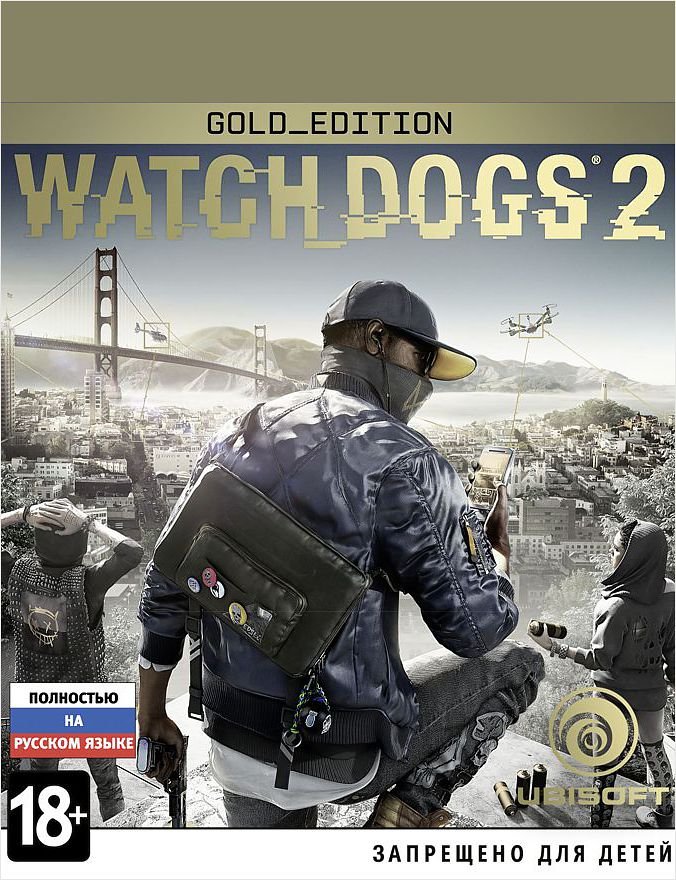 Watch Dogs 2 Gold Edition [PC, Цифровая версия] (Цифровая версия) watch dogs 2 mega pack цифровая версия