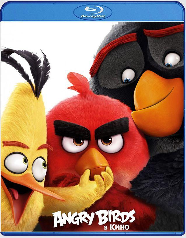 Angry Birds в кино (Blu-ray) Angry BirdsАнимационный фильм Angry Birds в кино  расскажет о том, как началось знаменитое противостояние птичек и свинок, персонажей популярной компьютерной игры.<br>