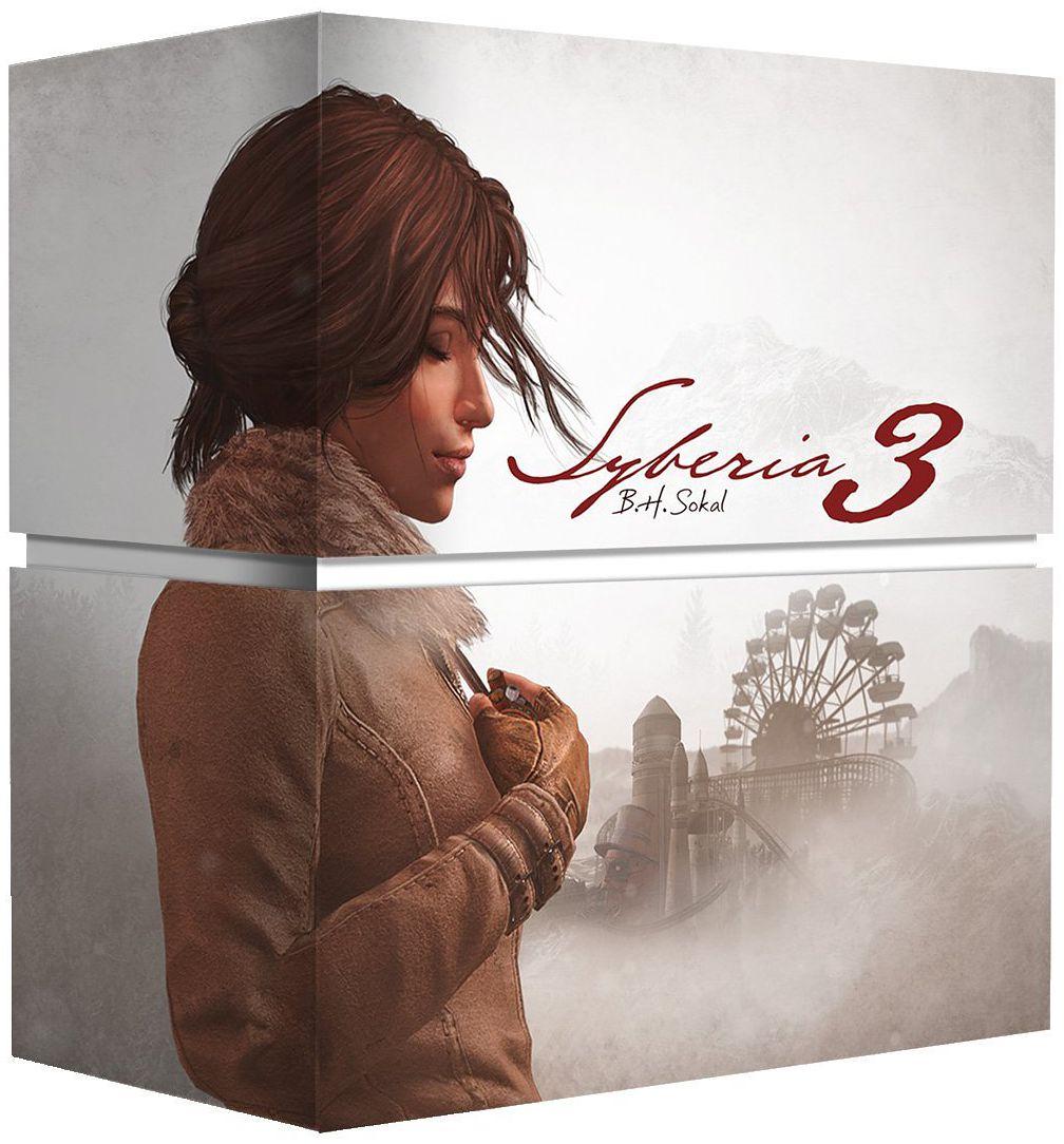 Syberia 3. Коллекционное издание [PS4]Закажите коллекционное издание игры Syberia 3 до 17:00 часов 18 апреля 2017 года и вы станете обладателем уникального издания, выпускаемого ограниченным тиражом.<br>