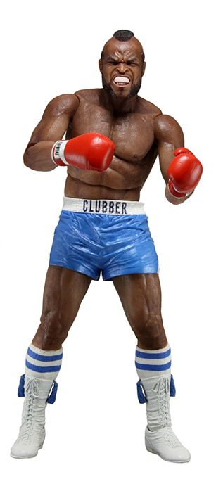 Фигурка Rocky 40th Anniversary. Clubber в синих трусах (17 см) neca rocky iii rocky balboa clubber lang 40th anniversary pvc action figure collectible model toy 7 18cm