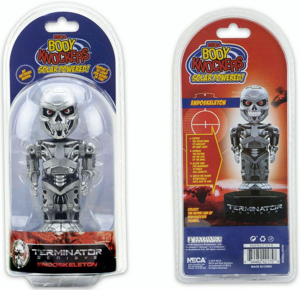 Фигурка на солнечной батарее Terminator Genisys. Endoskeleton (15 см)Представляем вашему вниманию фигурку-телотряс Terminator Genisys на солнечной батарее. Endoskeleton, выпущенную по мотивам боевика «Терминатор:Генезис».<br>