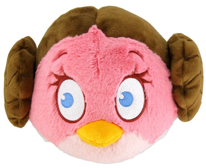 Мягкая игрушка Angry Birds. Star Wars. Принцесса Лея (30 см)