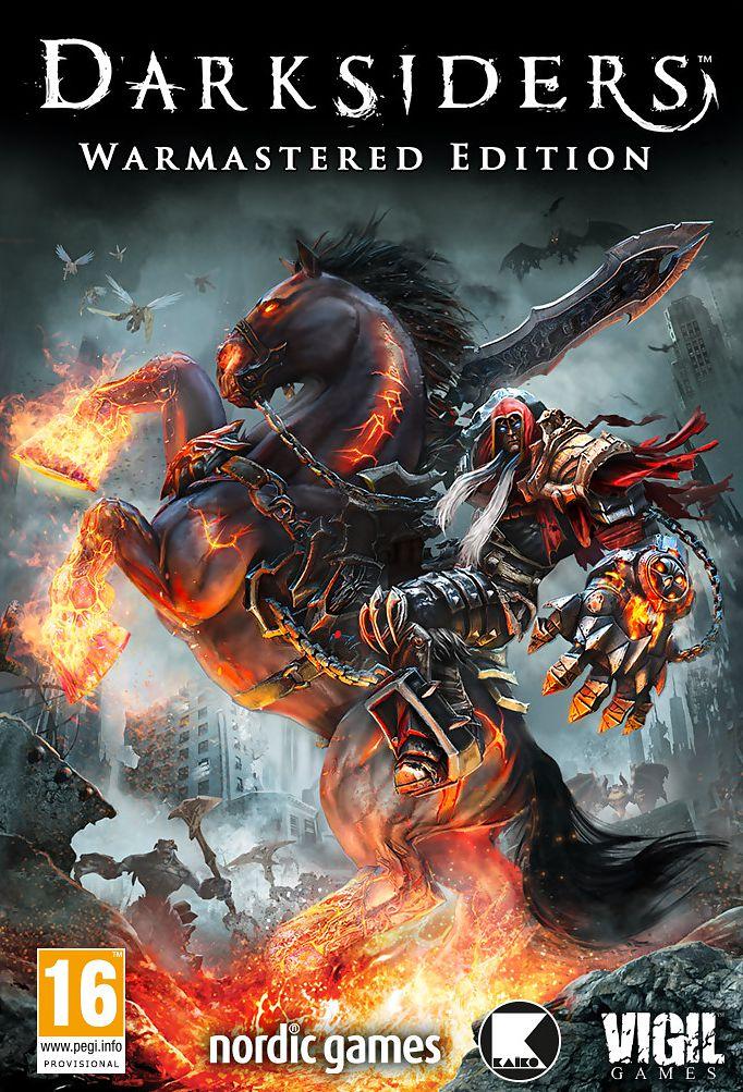Darksiders: Warmastered Edition (Цифровая версия)Игра Darksiders целиком погрузит вас в мир Апокалипсиса. Запаситесь платками, так как периодически возникает желание вытереть лицо от ангельской и демонической крови, льющейся рекой по экрану монитора и вас сильно удивят целые здания в окне, когда вы оторветесь от игры.<br>