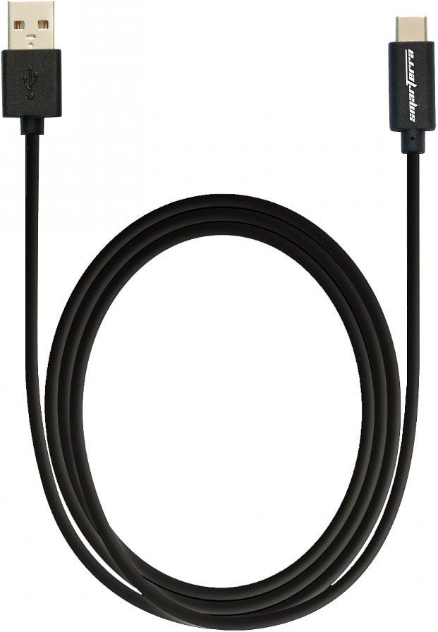 USB-кабель Smarterra STR-TC001 USB type C (черный)&amp;lt;p&amp;gt;USB-кабель Smarterra STR-TC001 предназначен для синхронизации, передачи данных и заряда современных планшетов, смартфонов и других девайсов с разъемом USB Type C и USB 3.0.&amp;lt;/p&amp;gt;<br>