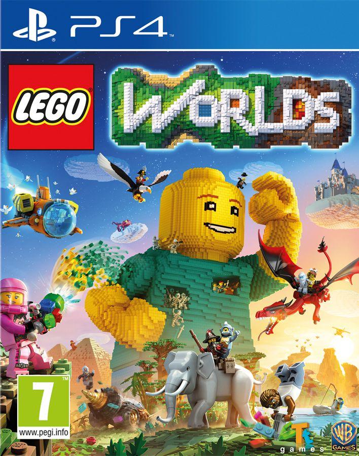 LEGO Worlds [PS4]LEGO Worlds – виртуальное воплощение LEGO, в котором возможно все! Теперь поклонники LEGO всех возрастов могут без ограничений создавать и перестраивать свои собственные миры, находить неожиданные сокровища и делиться с друзьями.<br>