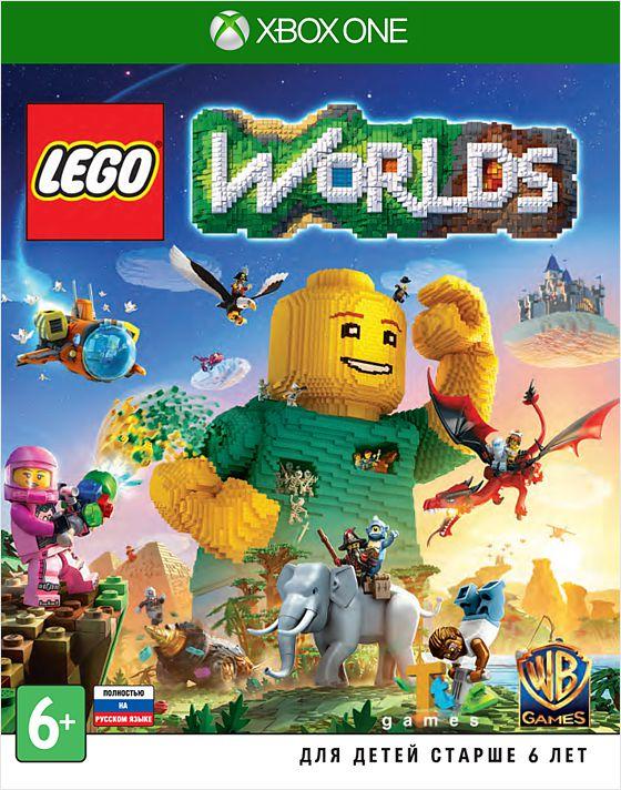 LEGO Worlds [Xbox One]LEGO Worlds – виртуальное воплощение LEGO, в котором возможно все! Теперь поклонники LEGO всех возрастов могут без ограничений создавать и перестраивать свои собственные миры, находить неожиданные сокровища и делиться с друзьями.<br>