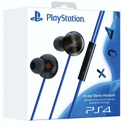 Стереогарнитура с наушниками-вкладышами для PS4 (с поддержкой PS Vita)Наслаждайтесь великолепным звуком, ни на что не отвлекаясь, благодаря технологии шумоподавления AudioShield.<br>
