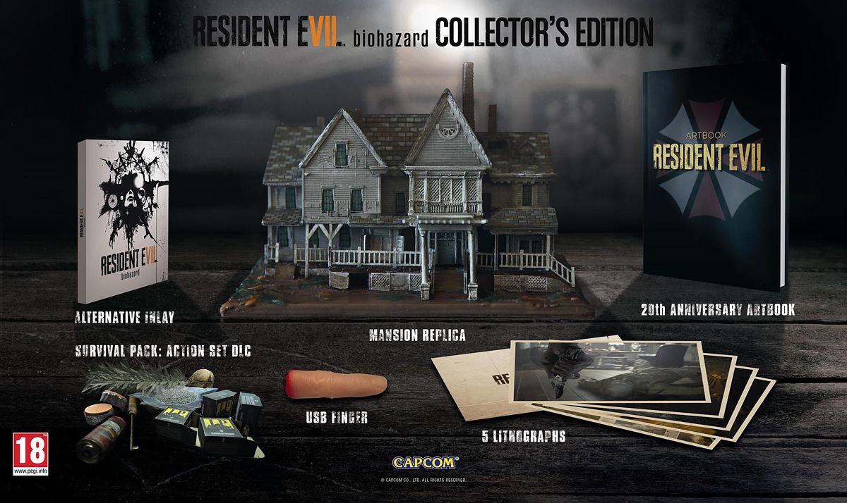 Resident Evil 7: Biohazard Коллекционное издание (поддержка VR) [PS4] heyner heyner бустер safeup xl