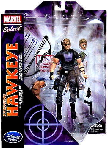 Фигурка Hawkeye. Avenging Marvel Select (20 см)Представляем вашему вниманию фигурку Hawkeye. Avenging Marvel Select, созданную по мотивам популярных комиксов.<br>