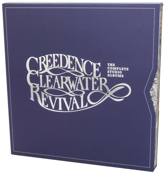 Creedence Clearwater Revival. The Complete Studio Albums (7 LP) вешала clearwater home