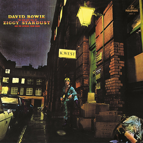David Bowie. The Rise And Fall Of Ziggy Stardust And The Spiders From Mars  (LP) violet ugrat ways to heaven colonization of mars i
