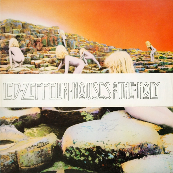 Led Zeppelin. Houses Of The Holy. Original Recording Remastered (LP) cd led zeppelin lll remastered