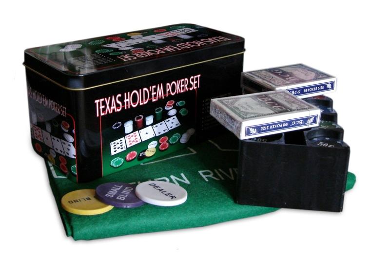 Набор для покера Texas Holdem 2 (200 фишек)Представляем вашему вниманию набор для покера Texas Holdem 2, в котором есть все, что необходимо для проведения досуга.<br>