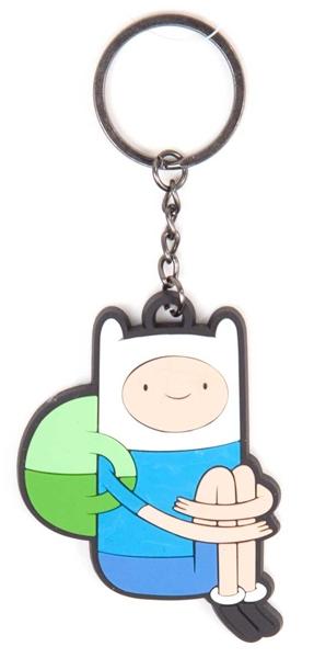 Брелок Adventure Time. Finn SittingПредставляем вашему вниманию брелок Adventure Time. Finn Sitting, созданный по мотивам одного из самых популярных мультсериалов Adventure Time (Время Приключений с Финном и Джейком).<br>