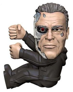 Фигурка Scalers Mini Figures. Terminator Genisys T800 (5 см)Представляем вашему вниманию фигурку Scalers Mini Figures. Terminator Genisys T800, коллекционные мини-фигурки знаковых персонажей из фильмов, видеоигр, телевидения и комиксов для ваших шнуров и кабелей!<br>