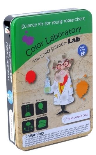 Набор Лаборатория сумасшедшего ученого. Лаборатория цветаПредставляем вашему вниманию набор Лаборатория сумасшедшего ученого. Лаборатория цвета, благодаря которому ребенок узнает о свойствах цвета, о возможностях смешивания цветов и получения различных оттенков.<br>